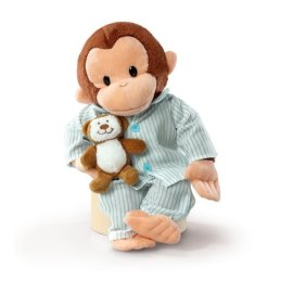 Russ Berrie 12-Inch Curious George In Pajamas