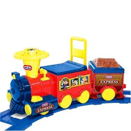 Little Tikes Battery Operated Talking Train with Track