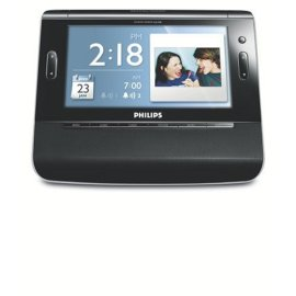 Philips AJL308 7-Inch Digital Picture Frame, Alarm Clock, Radio, & MP3 Player
