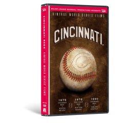 MLB Vintage World Series Films - Cincinnati Reds 1975, 1976 & 1990