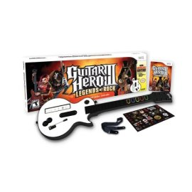 Guitar Hero III: Legends of Rock Bundle [Wii]