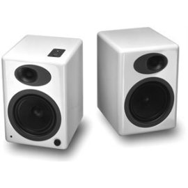 Audioengine A5 Powered Speaker System (A5W, Pair, White)