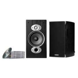 Polk Audio RTI A3 Bookshelf Speakers (AM3375-A, Pair, Black)