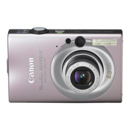 Canon PowerShot SD1100IS 8MP Digital Camera with 3x Optical Image Stabilized Zoom (Pink)