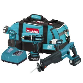 Makita LXT407 18V LXT Lithium-Ion 4-Tool Cordless Combo Set