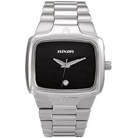 Nixon - The Player Watch (Silver/Black)