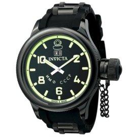 Invicta Men's Russian Diver Collection Black Watch #4338