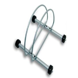Delta Rothko Rolling Bicycle Stand - silver