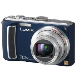 Panasonic Lumix DMC-TZ5A 9MP Digital Camera with 10x Zoom TZ5 (Blue)