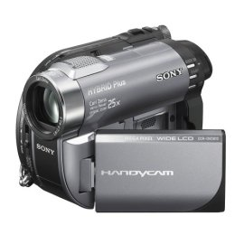 Sony DCR-DVD810 1MP DVD Hybrid Plus Handycam Camcorder with 8GB Memory & 25x Optical Zoom