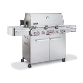 Weber 2780001 Summit S-670 Stainless Steel LP Gas Grill