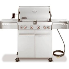 Weber 2840001 Summit S-470 Stainless Steel Natural Gas Grill