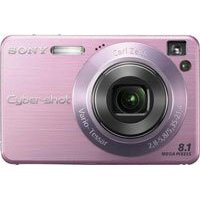 Sony Cybershot DSC-W130 8.1MP Digital Camera with 4x Optical Zoom with Super Steady Shot (Pink)