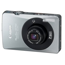 Canon PowerShot SD750 7.1MP Digital Elph Camera with 3x Optical Zoom (Black)