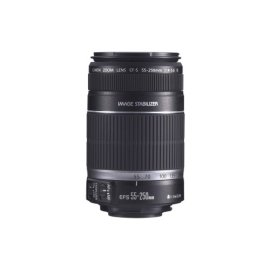 Canon EF-S 55-250mm f/4.0-5.6 IS Telephoto Zoom Lens for Canon Digital SLR Cameras (2044B002)