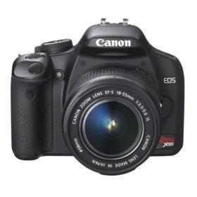 Canon Digital Rebel XSi 12MP Digital SLR Camera with EF-S 18-55mm f/3.5-5.6 IS Lens (450d)