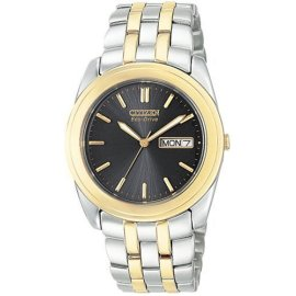 Citizen Eco-Drive Men's Two-Tone Stainless Steel Watch #BM8224-51E