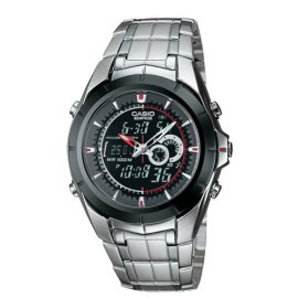 Casio Men's Ana-Digi Edifice Bracelet Watch #EFA119BK-1AV