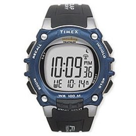 Timex Men's Ironman Triathlon 100-Lap FLIX System Watch #T5E241
