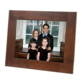 Smartparts SP15MW 15-Inch Digital Picture Frame with Walnut Frame