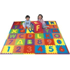 Alphabet 'n Numbers Foam Puzzle Mat