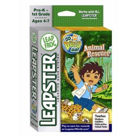 LeapFrog Leapster® Educational Game: Go Diego Go! Animal Rescuer