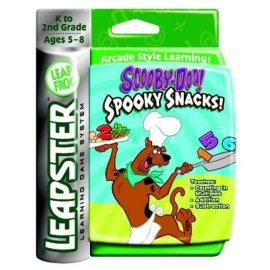 LeapFrog Leapster® Educational Game: Scooby-Doo™ Spooky Snacks!