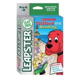 LeapFrog Leapster® Educational Game: Scholastic Clifford The Big Red Dog® Reading