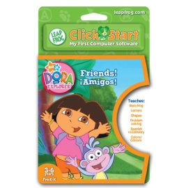 LeapFrog ClickStart Educational Software: Dora the Explorer - Friends! !Amigos!
