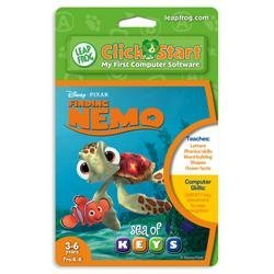 LeapFrog ClickStart Educational Software: Finding Nemo - Sea of Keys