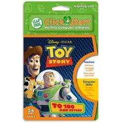 LeapFrog ClickStart Educational Software: Toy Story - To 100 and Beyond!