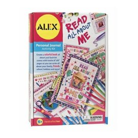 Alex Read All About Me 12 Page Journel Kit