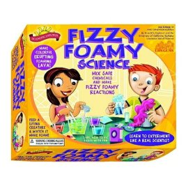 Scientific Explorer's Fizzy Foamy Science Kit of Safe Chemical Reactions