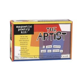 Magnetic Poetry Artist Magnetic Poetry Kit