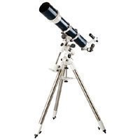 Celestron Omni XLT 120mm Refractor Telescope, 1000mm f/8.3 Focal Length with HD CG-4 German Equatorial Mount & Adjustable Tripod with 1.75 Steel Legs