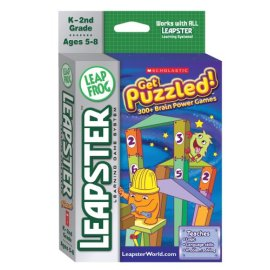 LeapFrog Leapster® Educational Game: Scholastic Get Puzzled!
