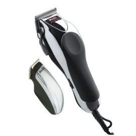 Wahl Deluxe Chrome Pro with Multi-Cut Clipper & Trimmer, 27 Pieces (79524-1001)