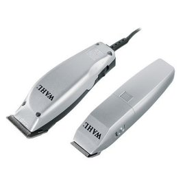Wahl 79450 HomePro 14-Piece Styling Kit with Clipper and Trimmer - Chrome