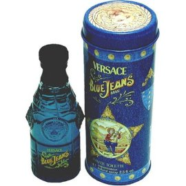 Blue Jeans By Gianni Versace For Men. Eau De Toilette Spray 2.5 Ounces