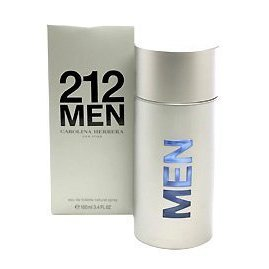 212 By Carolina Herrera For Men. Eau De Toilette Spray 3.4 Ounces