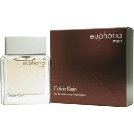 Euphoria Men By Calvin Klein For Men. Eau De Toilette Spray 3.4 oz