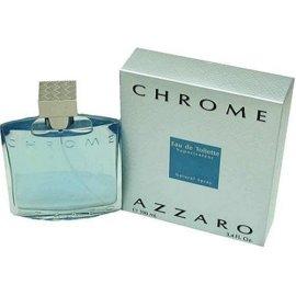 Chrome By Azzaro For Men. Eau De Toilette Spray 6.8 Ounces
