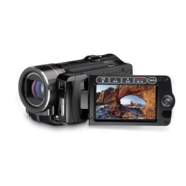 Canon VIXIA HF10 High Definition Camcorder with 16GB Internal Flash Memory and 12x Optical Image Stabilized Zoom