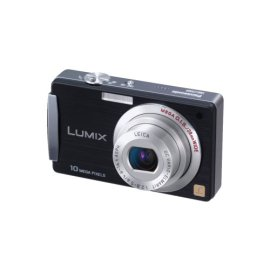Panasonic Lumix DMC-FX500 10.1MP Digital Camera with 5x Wide Angle MEGA Optical IS Zoom (Black)