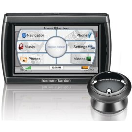 Harman Kardon GPS-810 4.3 Widescreen Bluetooth Portable GPS Navigator / Media Player