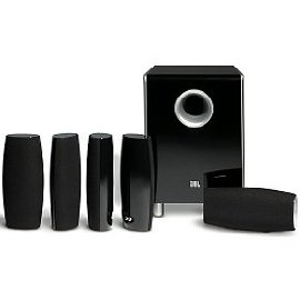 JBL CS6100BG Complete 6-Piece Home Theater Speaker System