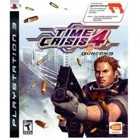 Time Crisis 4 (Includes Guncon 3)