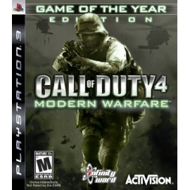 Call of Duty 4: Modern Warfare Game of the Year