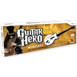 Guitar Hero Wireless Les Paul Guitar Controller for Wii