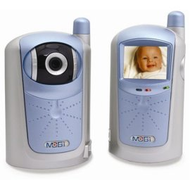 MOBI MobiCam Ultra 900 MHz Monitoring System with SW Power - Silver w/ Blue
